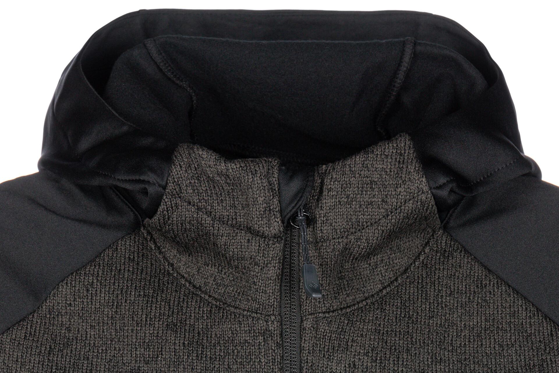 Columbia Altitude Aspect Veste à capuche Polaire Hybride Homme, black